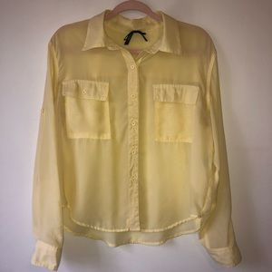 Beautiful, button down, long sleeve, size large.